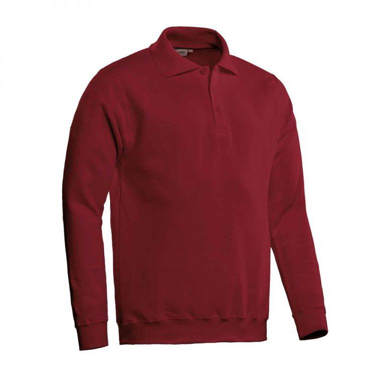 Robin Polosweater Santino bordeaux