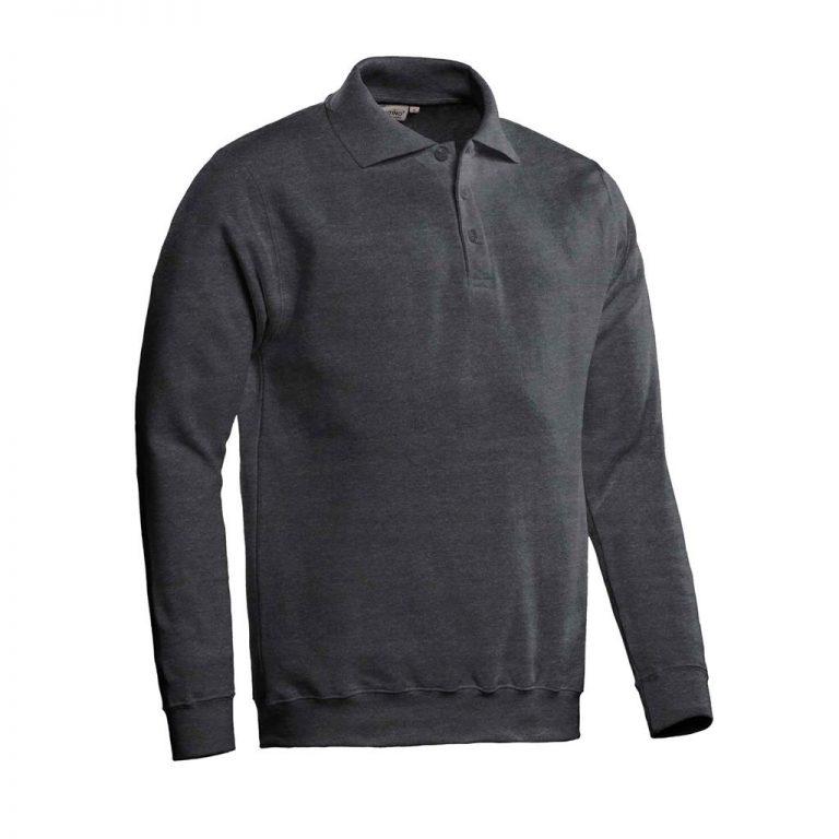 Robin Polosweater Santino d.grijs