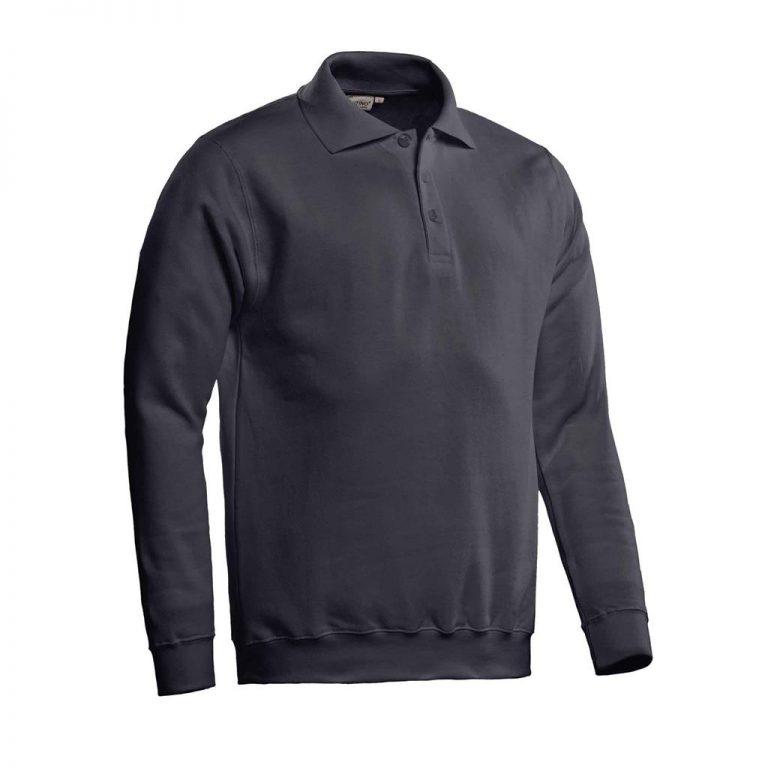 Robin Polosweater Santino graphite