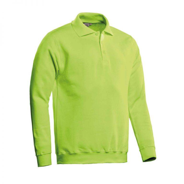 Robin Polosweater Santino lime