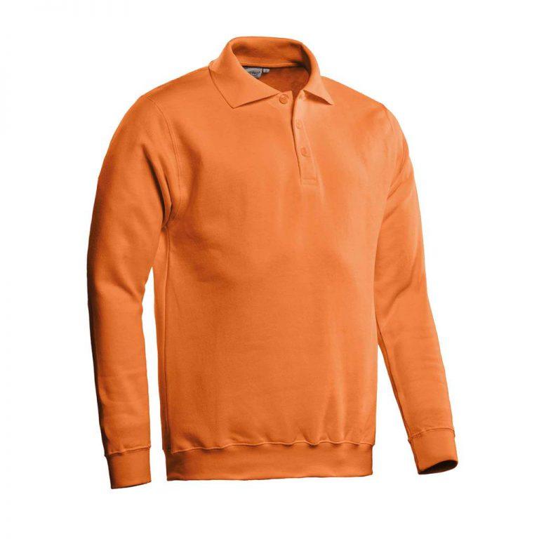 Robin Polosweater Santino oranje