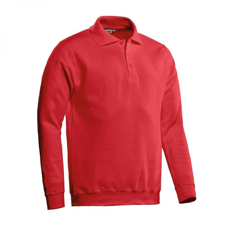 Robin Polosweater Santino rood