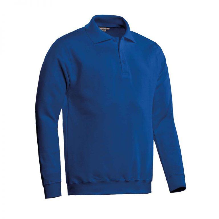 Robin Polosweater Santino royal blue