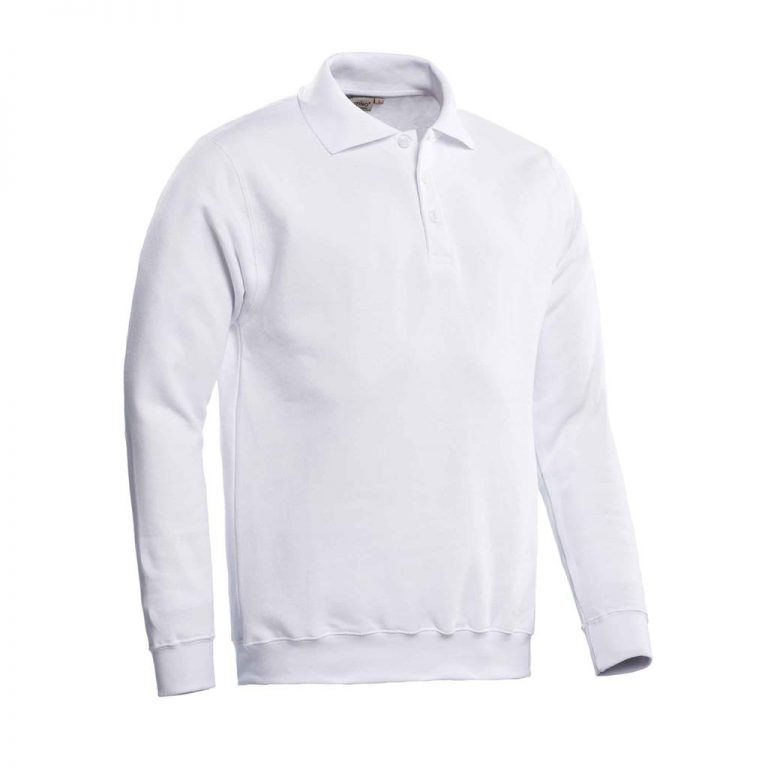 Robin Polosweater Santino wit