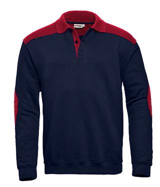 Tesla Santino Polosweater 2-Color-Line