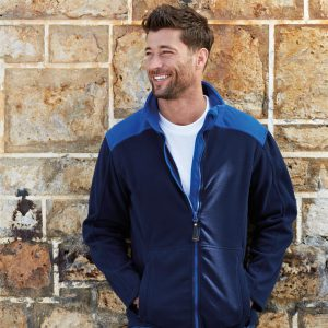 Trento Santino Fleece Jack 2-Color-Line