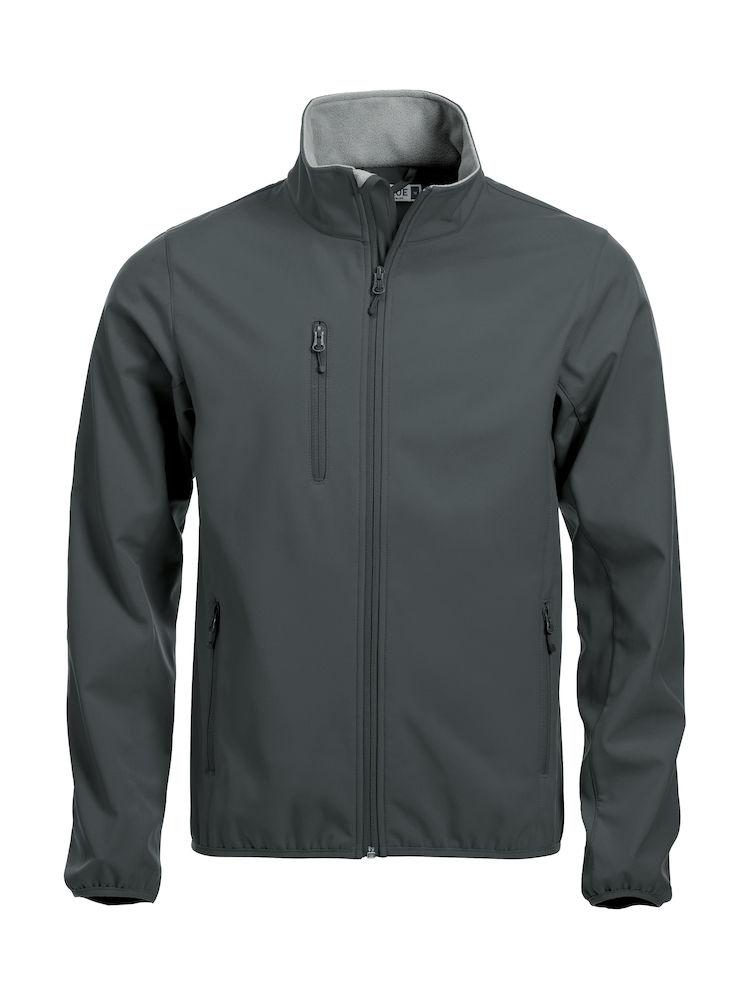 020910 Basic Softshell Jacket Clique