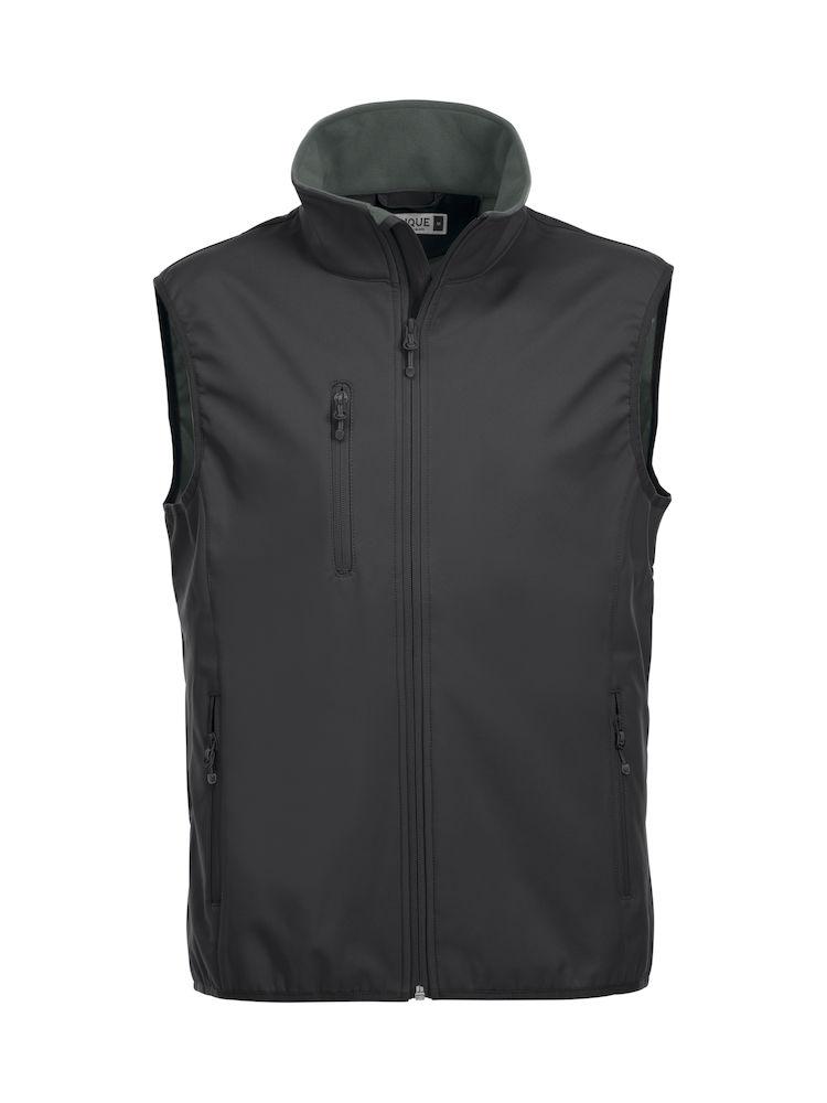 020911 Basic Softshell Vest Clique