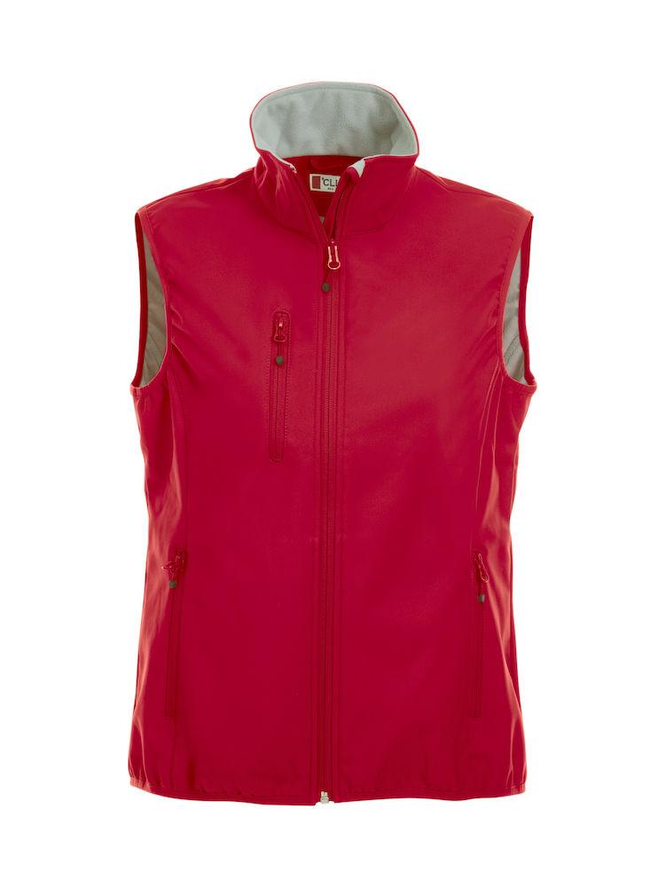 020916 Basic Softshel Vest Ladies Clique