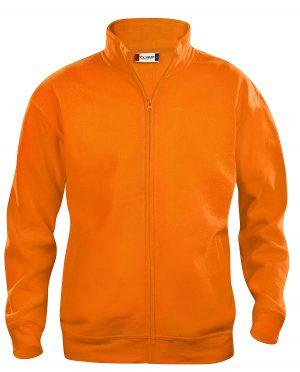 021038 Oranje Basic Cardigan