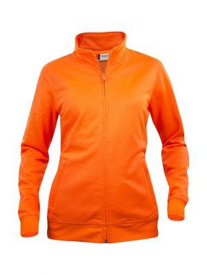 021039 Oranje Basic Cardigan dames