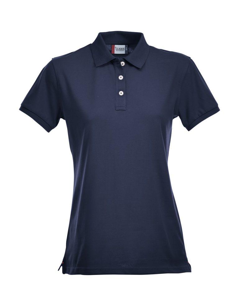 028241 Premium Polo Ladies donkerblauw