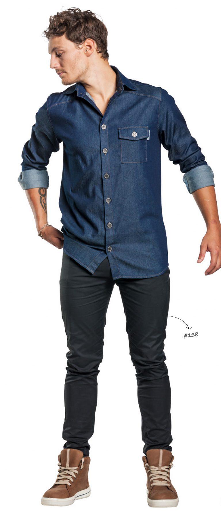 Skinny Reg broek Chaud Devant 139