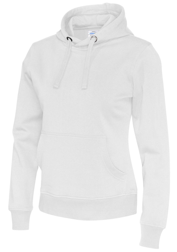 141001 CottoVer Hoody Lady White