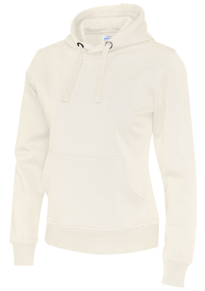 141001 CottoVer Hoody Lady Off White