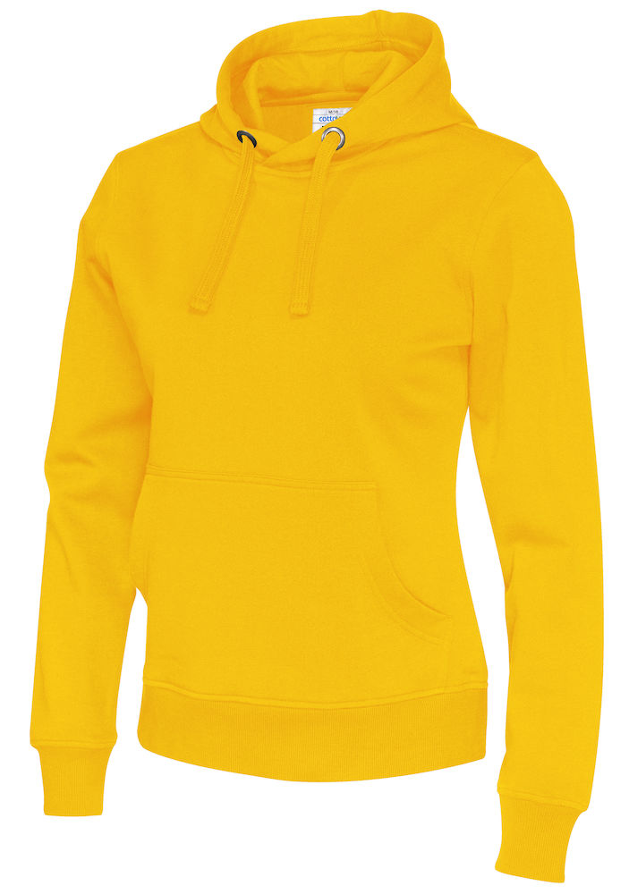 141001 CottoVer Hoody Lady Yellow