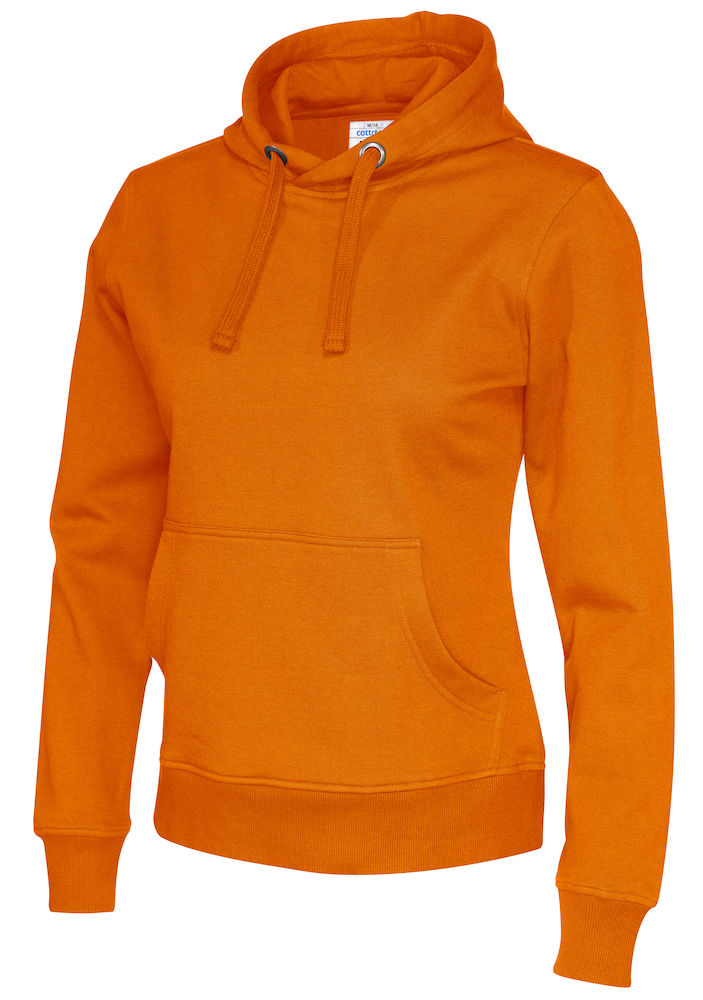 141001 CottoVer Hoody Lady Orange