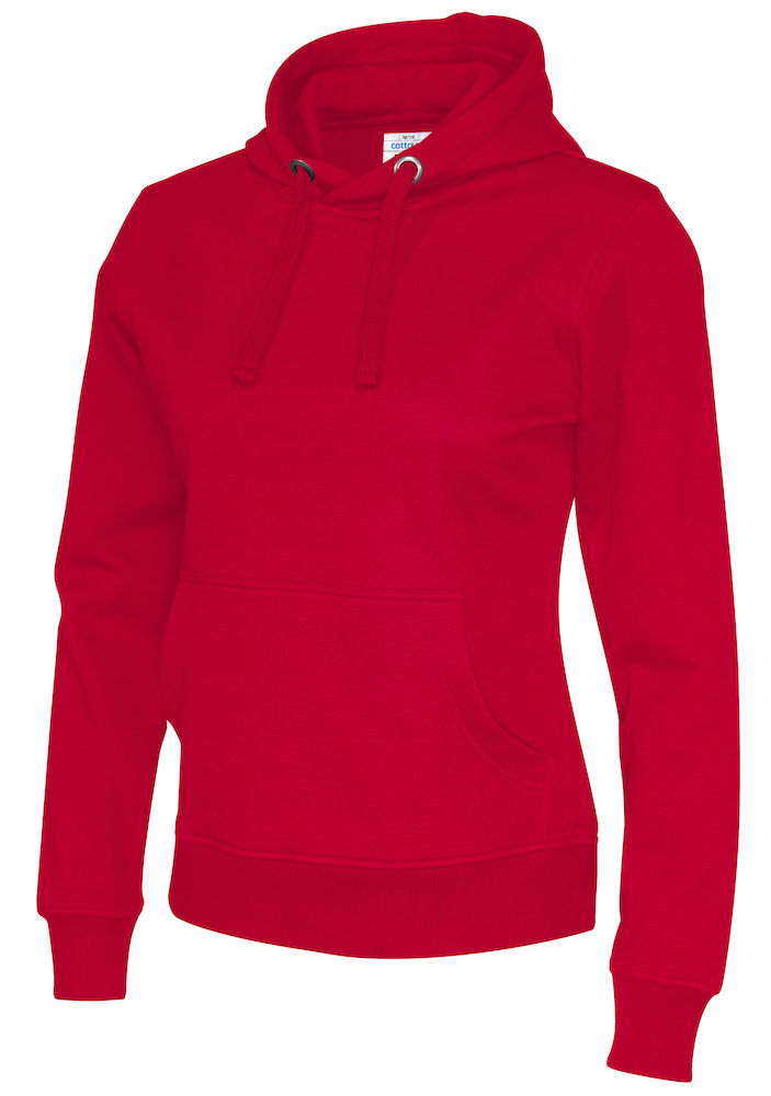 141001 CottoVer Hoody Lady Red
