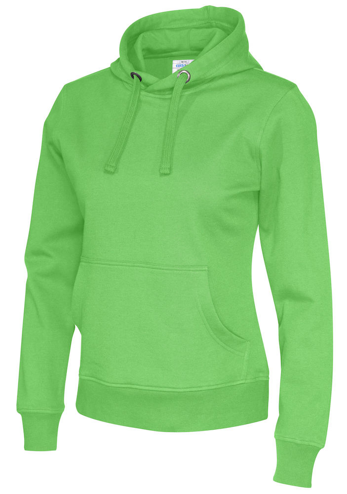 141001 CottoVer Hoody Lady Green