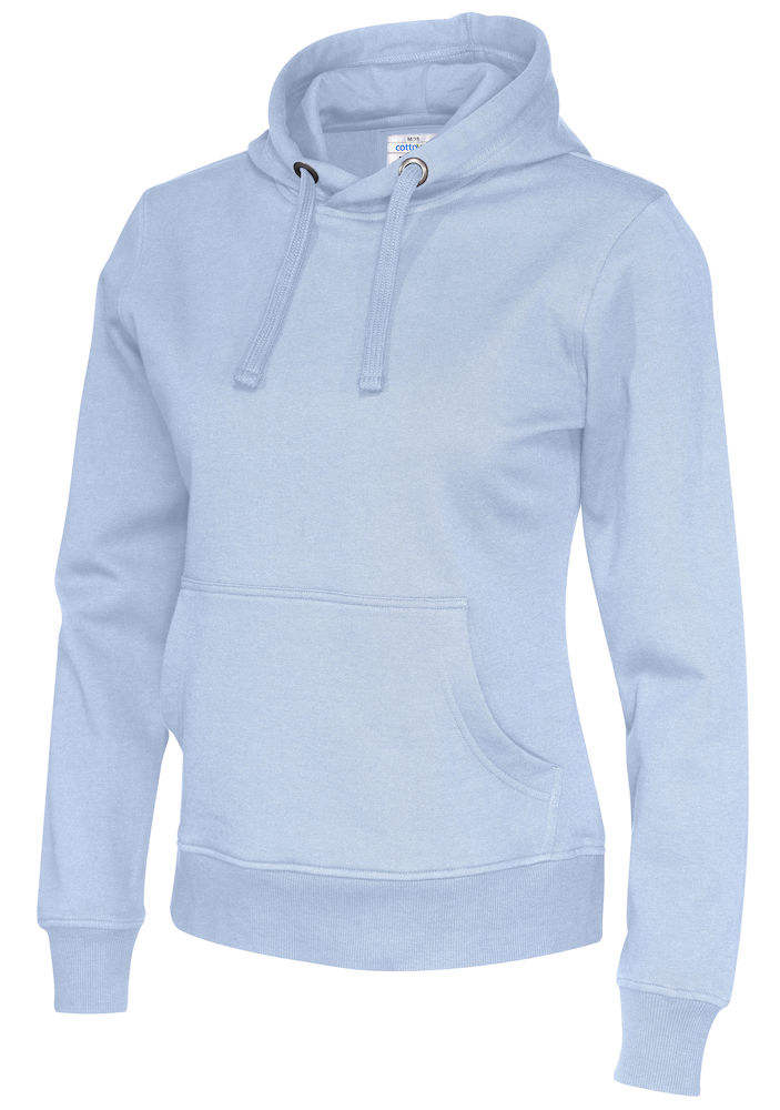 141001 CottoVer Hoody Lady Sky Blue