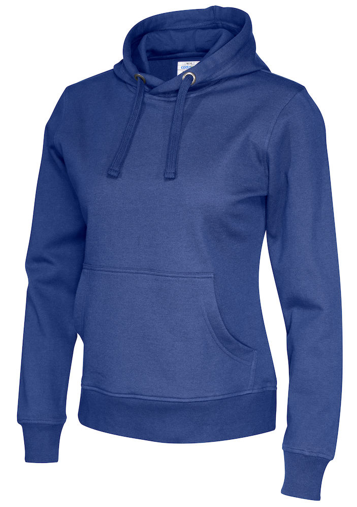 141001 CottoVer Hoody Lady Royal
