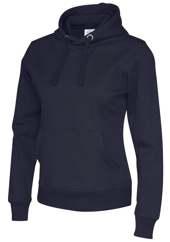 141001 CottoVer Hoody Lady Navy