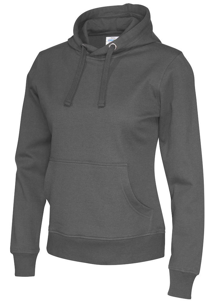 141001 CottoVer Hoody Lady Charcoal