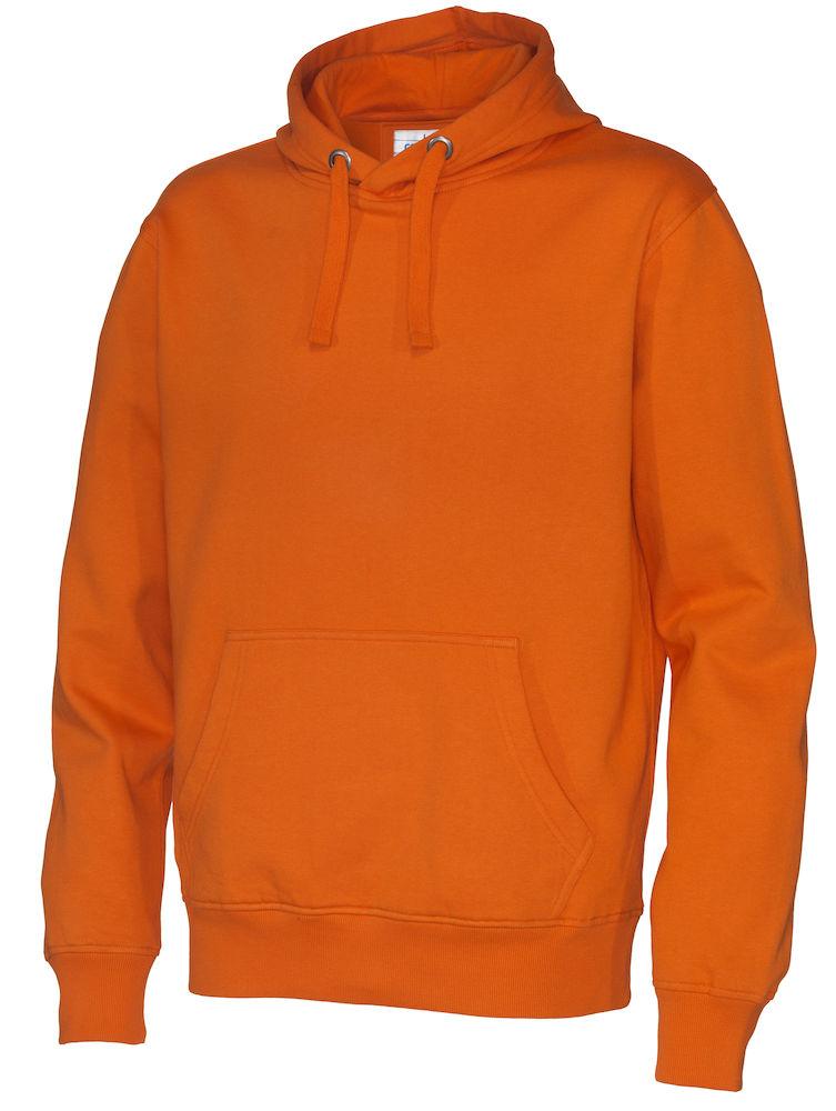 141002 CottoVer Hoody Man Orange