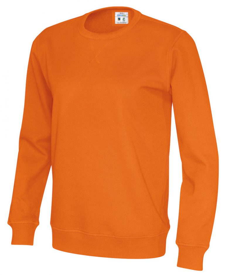 141003 CottoVer Sweater Orange