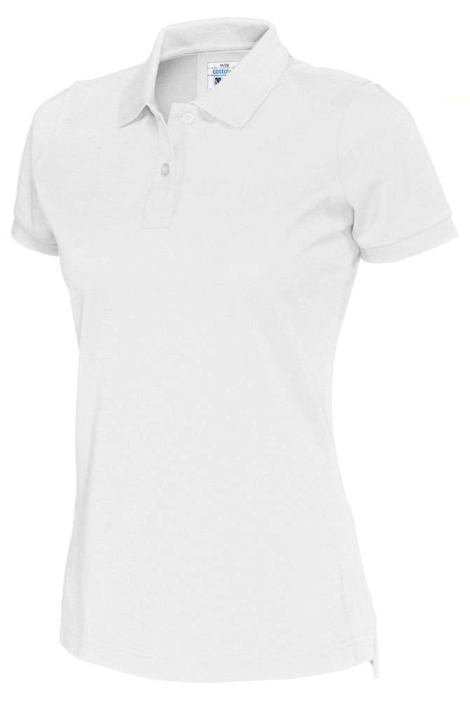 141005 CottoVer Polo Lady white