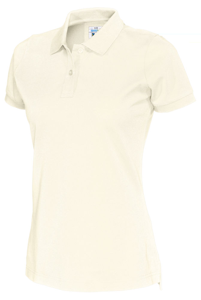 141005 CottoVer Polo Lady off white