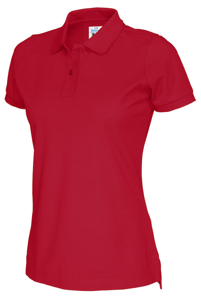 141005 CottoVer Polo Lady red