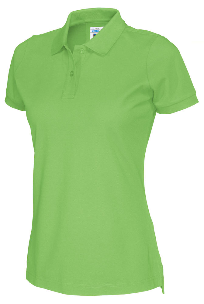 141005 CottoVer Polo Lady green