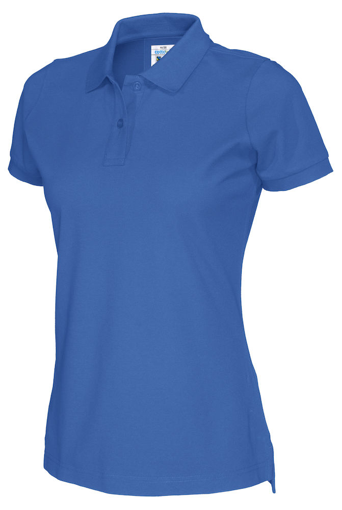 141005 CottoVer Polo Lady royal