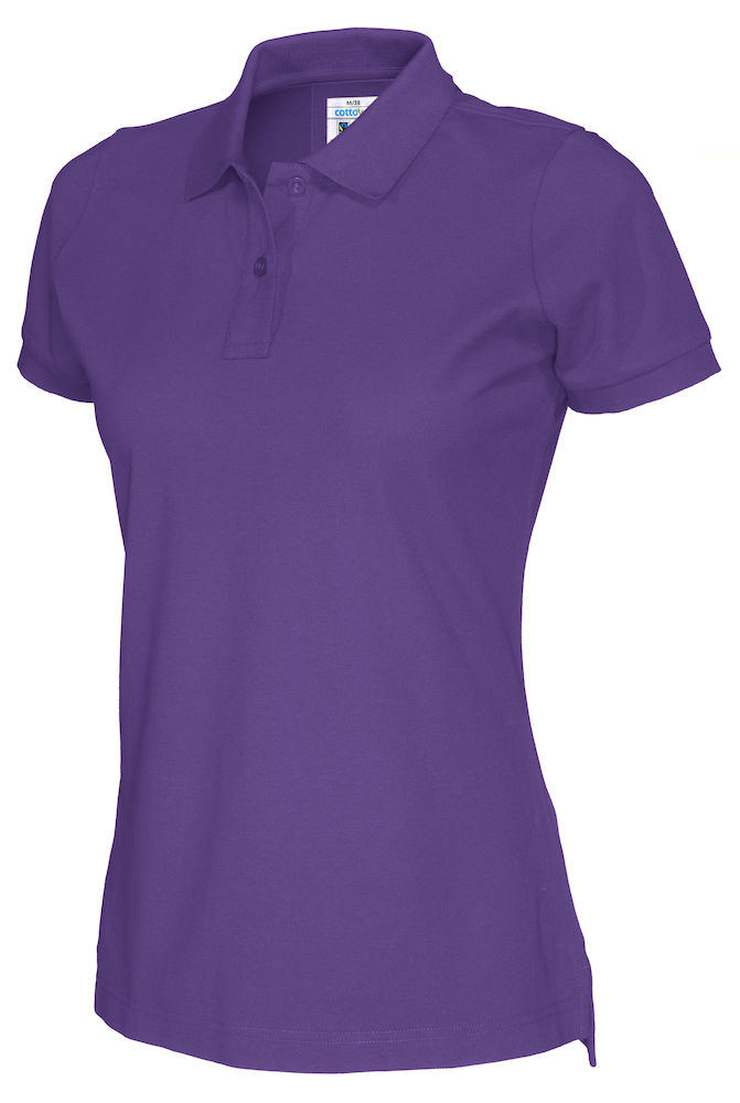 141005 CottoVer Polo Lady purple