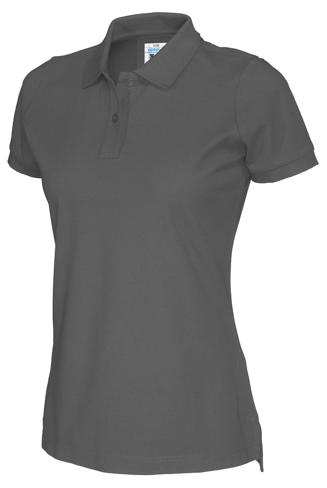 141005 CottoVer Polo Lady charcoal