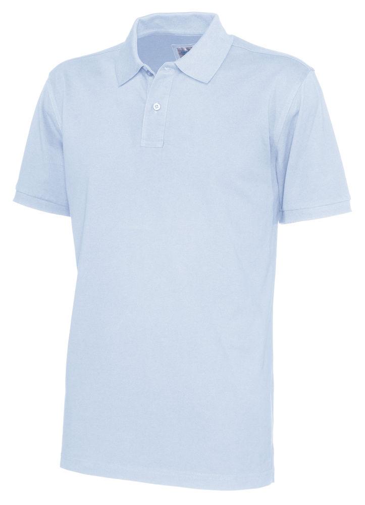 141006 CottoVer Polo Man sky blue