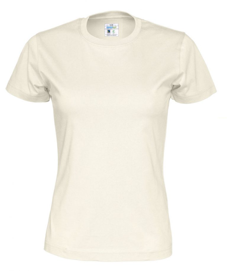 141007 CottoVer T-shirt lady off white