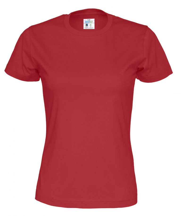 141007 CottoVer T-shirt lady red