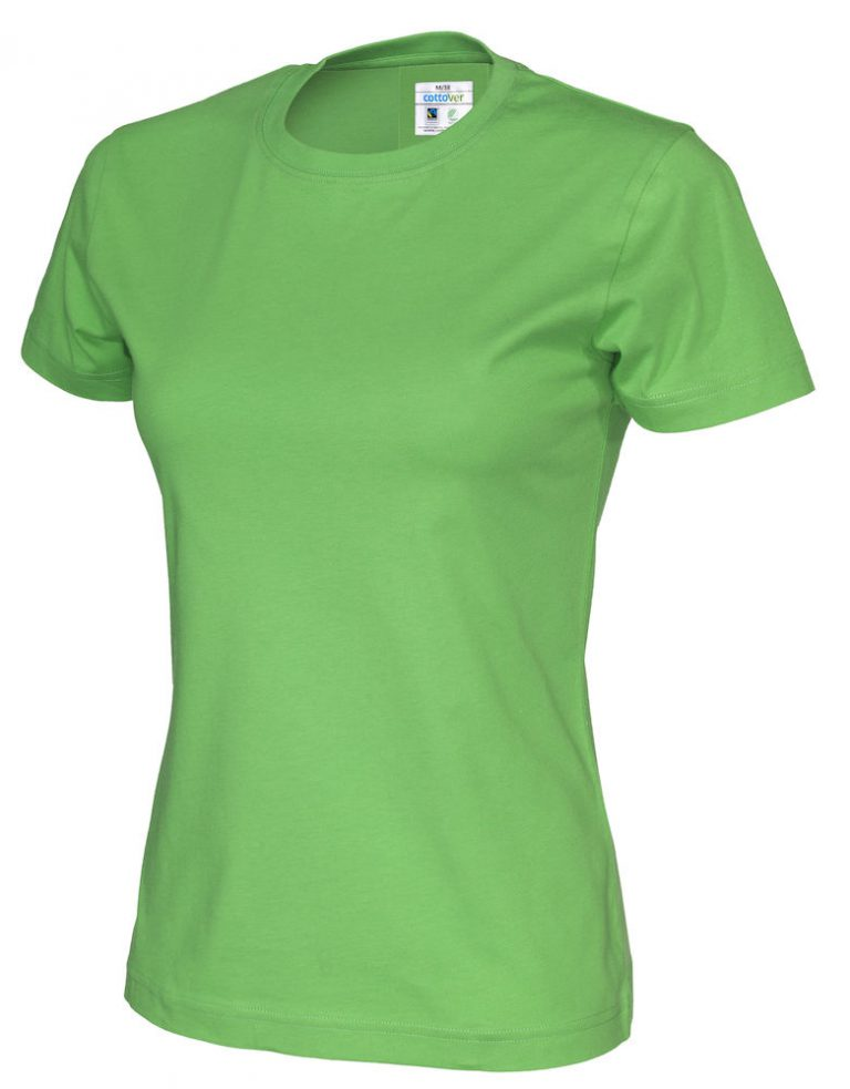 141007 CottoVer T-shirt lady green