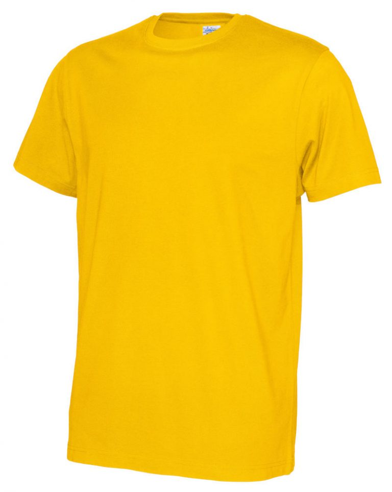 141008 CottoVer T-shirt Man yellow