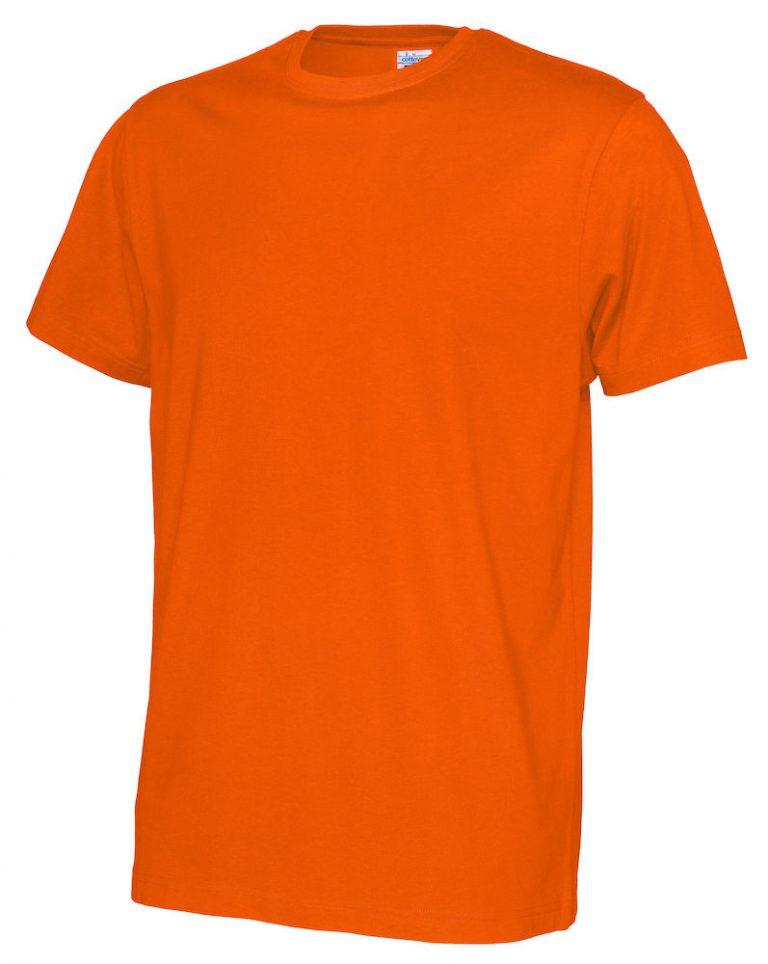 141008 CottoVer T-shirt Man orange