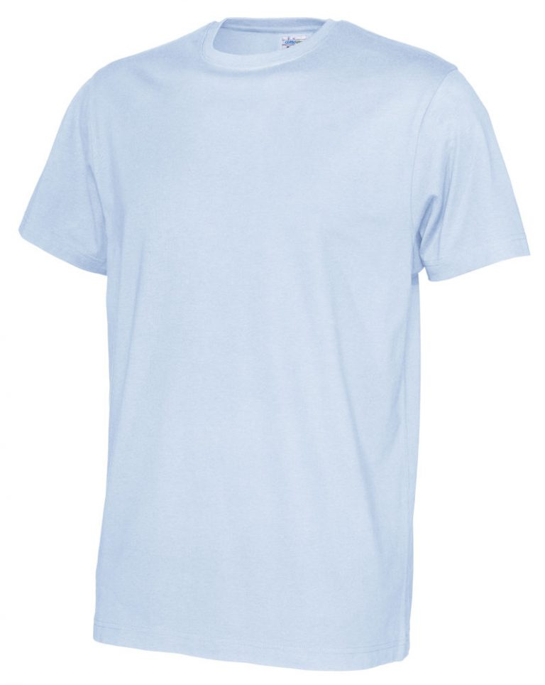 141008 CottoVer T-shirt Man sky blue
