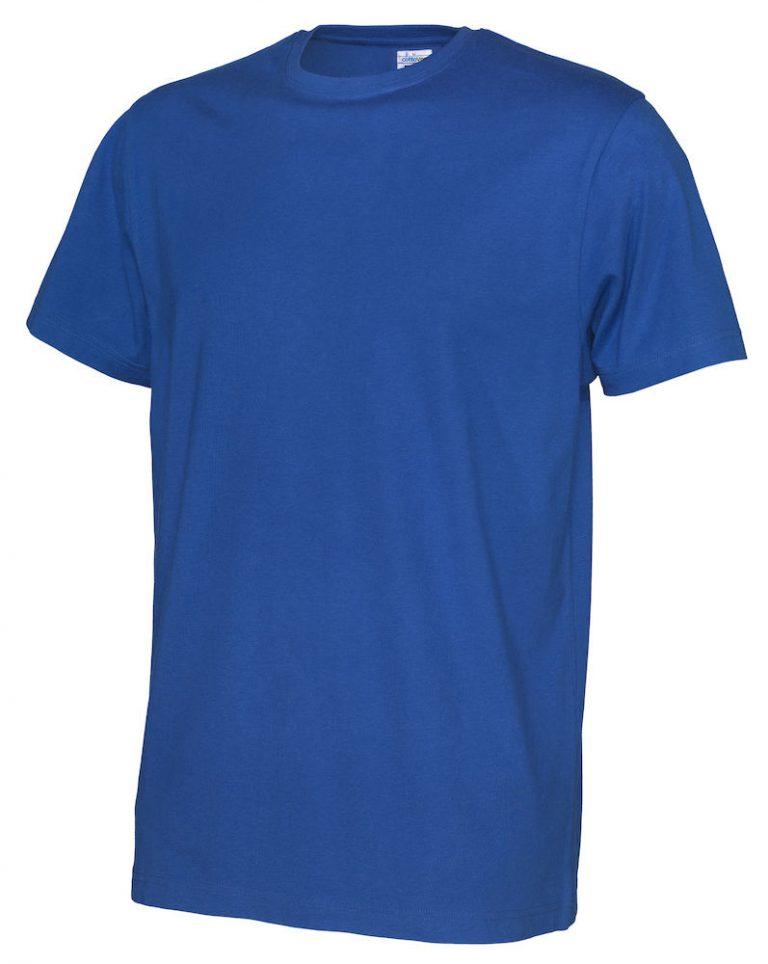 141008 CottoVer T-shirt Man royal