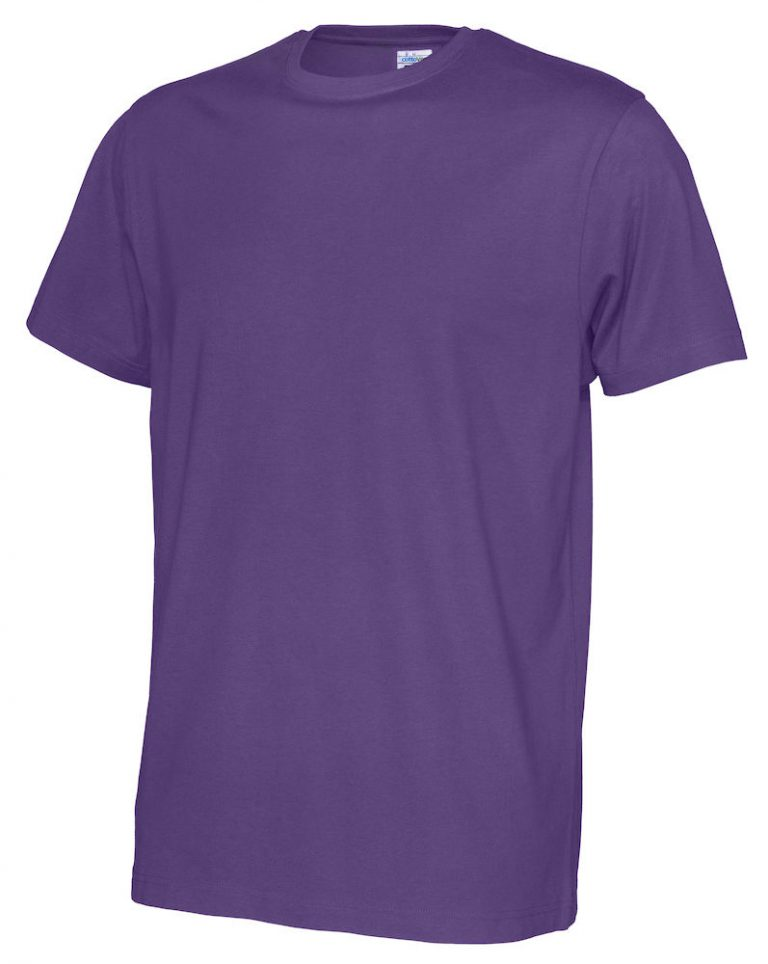 141008 CottoVer T-shirt Man purple