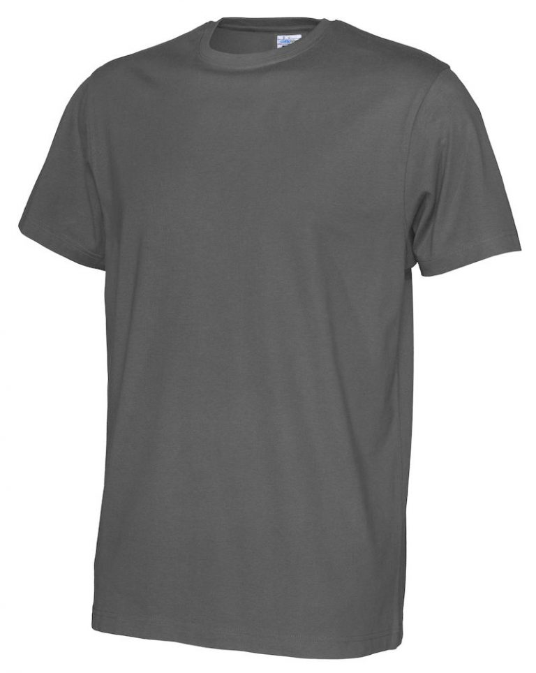 141008 CottoVer T-shirt Man charcoal