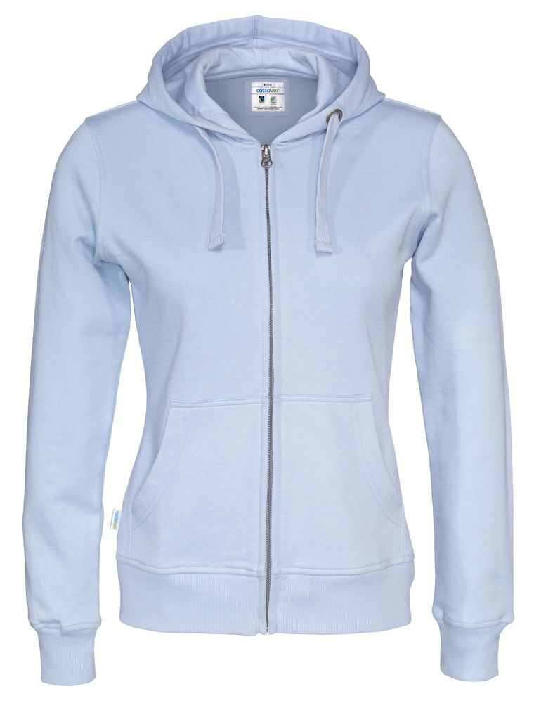 141010 CottoVer Hooded Sweatvest Man Sky Blue