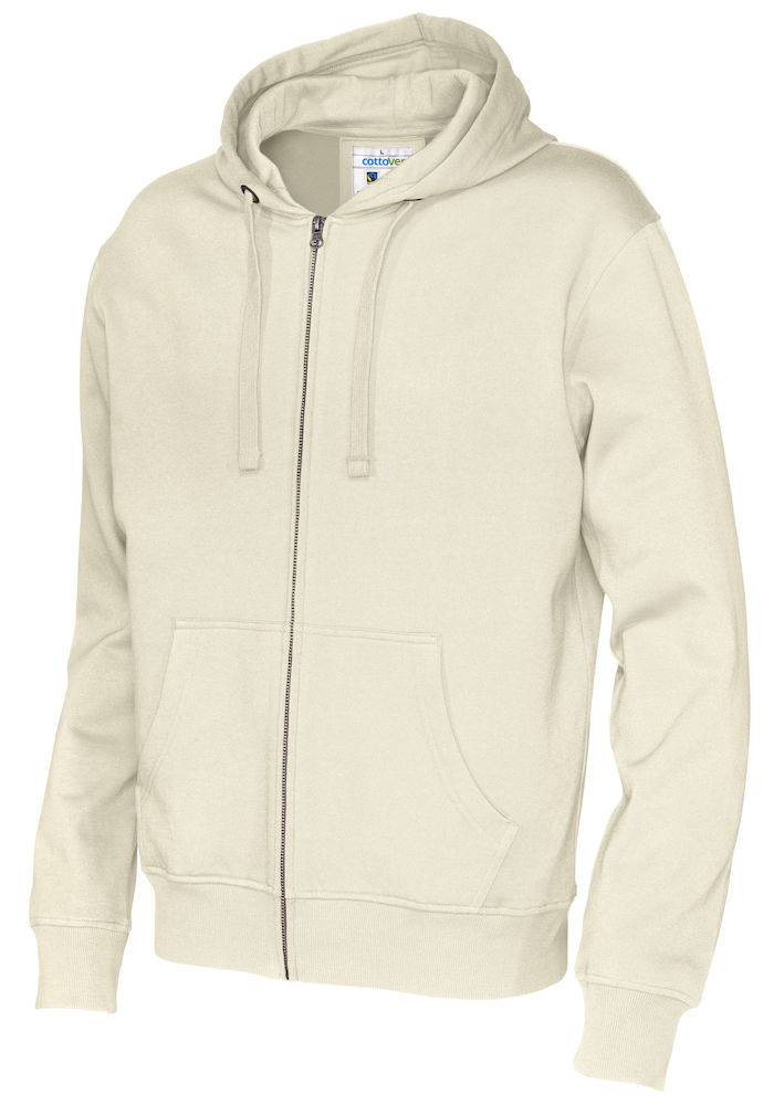 141010 CottoVer Hooded Sweatvest Man Off White