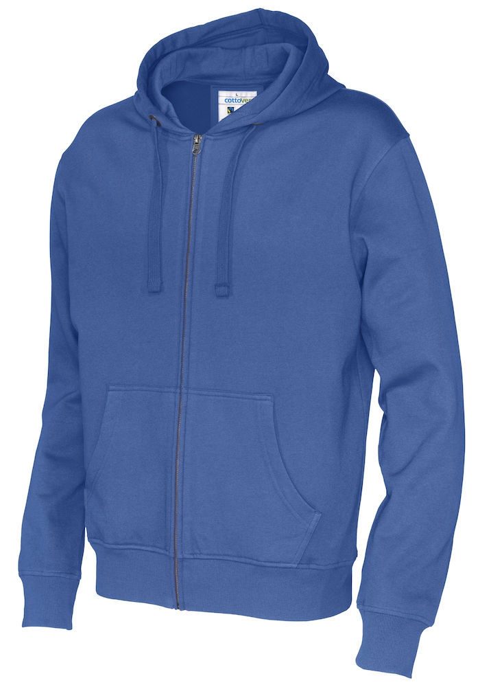 141010 CottoVer Hooded Sweatvest Man Royal