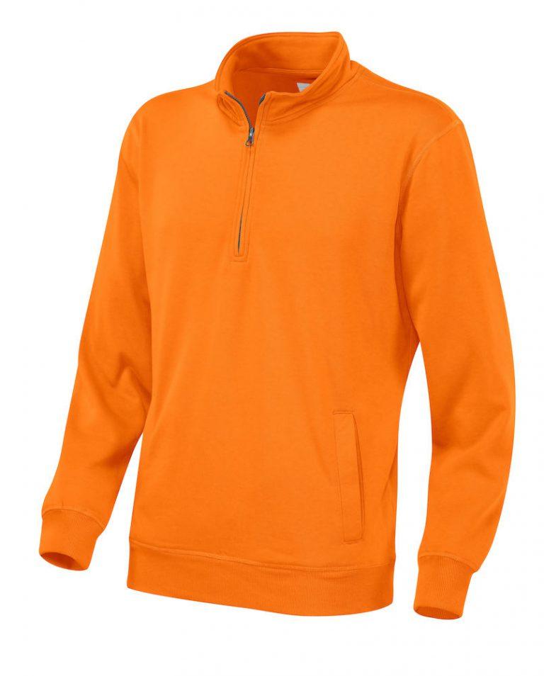 141012 CottoVer Zipsweater orange